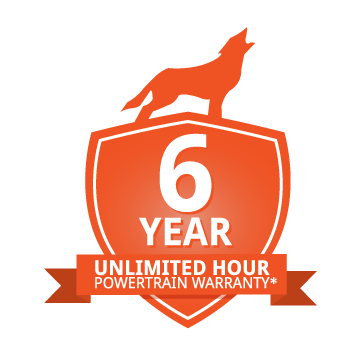 6 year warranty logo